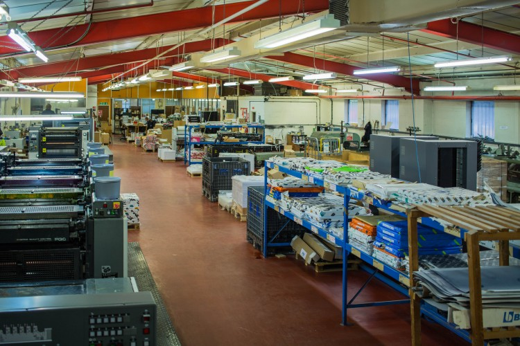 Panoramic image of the Scarbutts warehouse